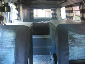 1969 VW Bus Bridger Living Space | Inspiration for restoring and living in a VW bus.