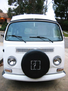 1969 VW Bus Front | Inspiration for restoring and living in a VW bus.
